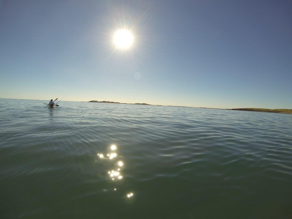 Kayaking to Dixon Island