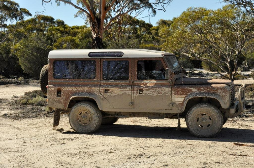 Land Rover Mud