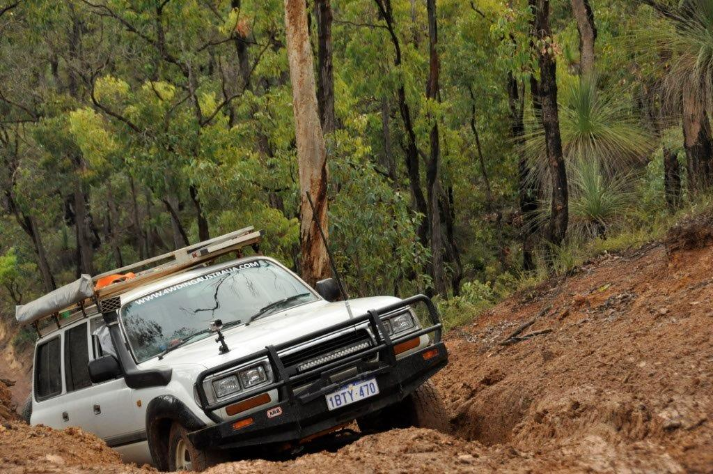 Mundaring Hill Climb in the 80