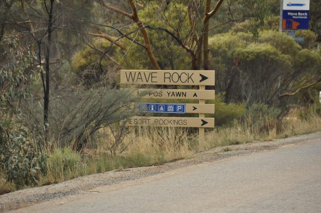 On the Way to Wave Rock