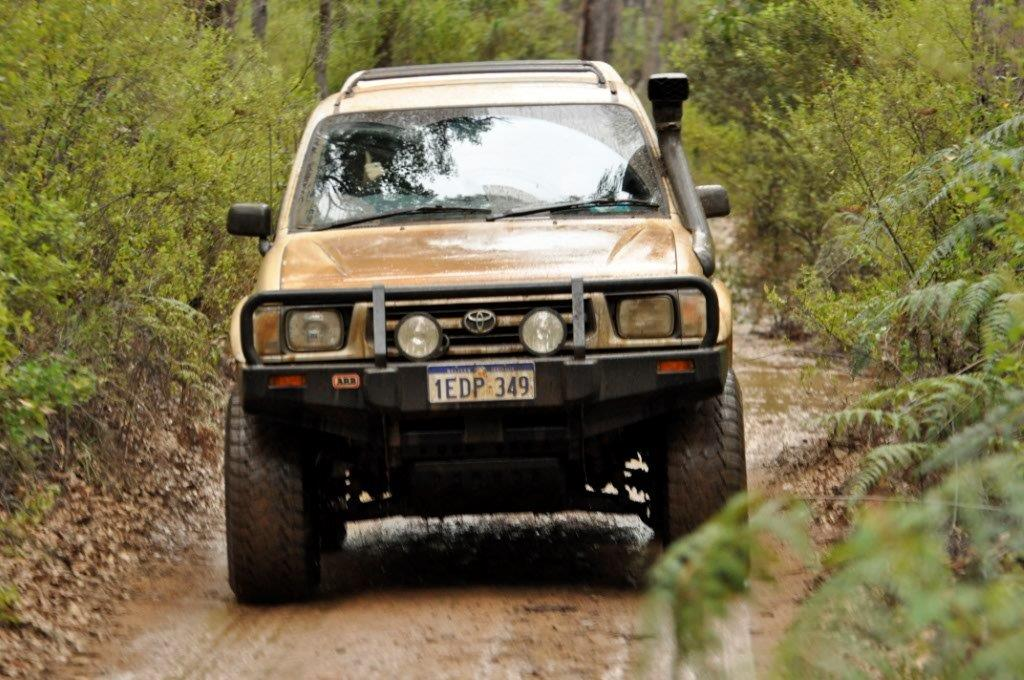 One Wet Hilux