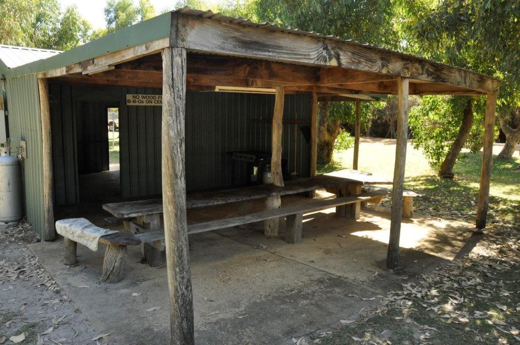 Orleans Caravan Park Kitchen