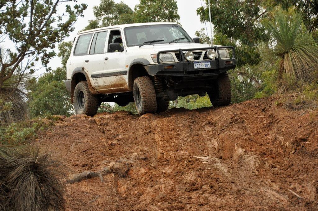Patrol in the Mud