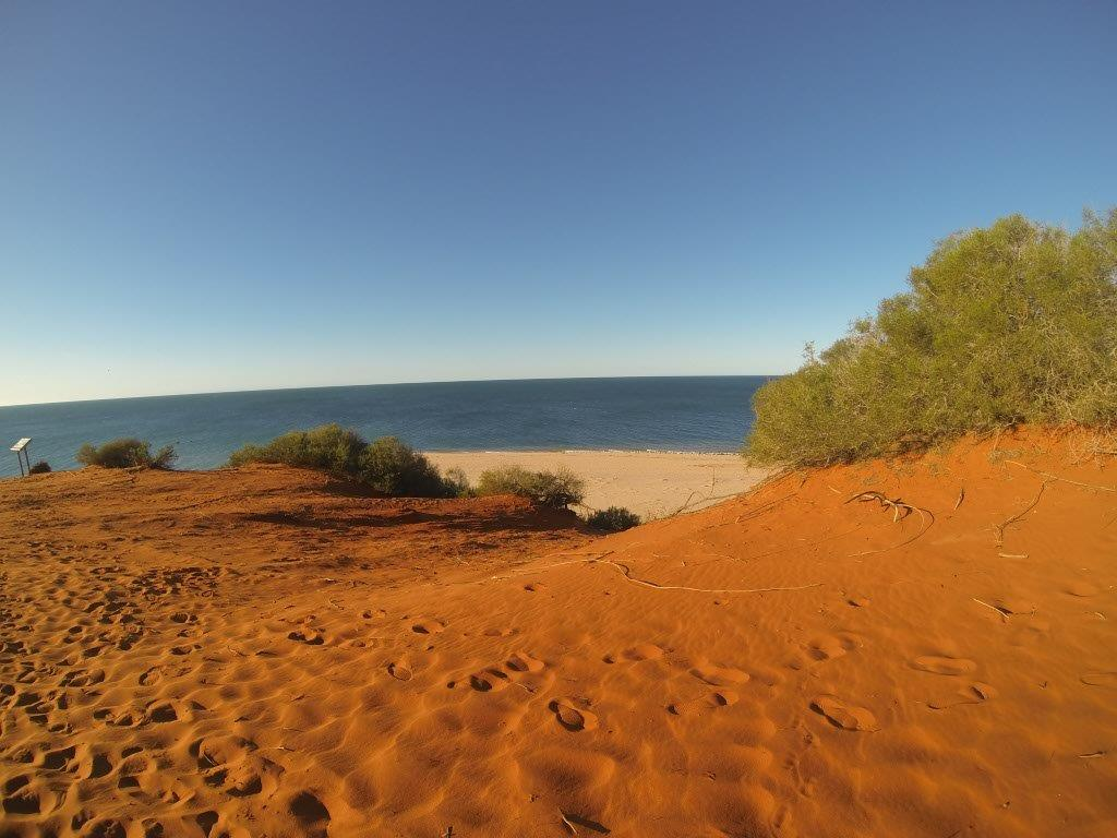 Red Dunes at Shark Bay