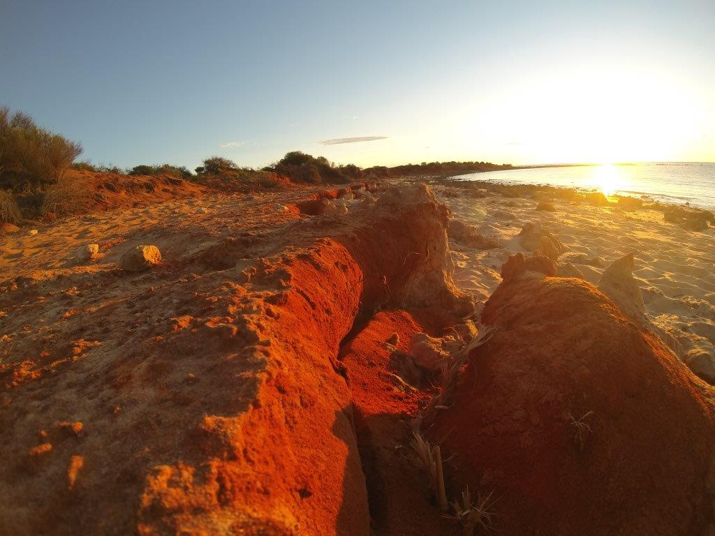Red Sand from Shark Bay