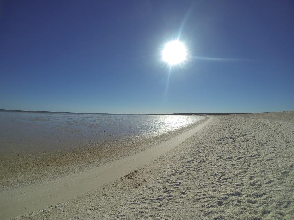 Shell Beach in Shark Bay
