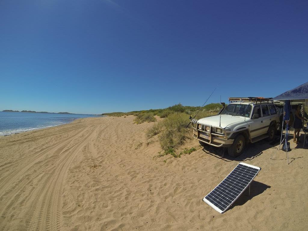 Solar Power on the Beach
