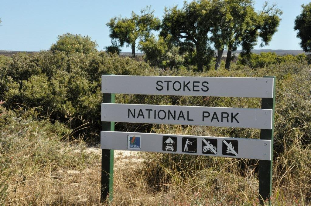 Stokes National Park Sign