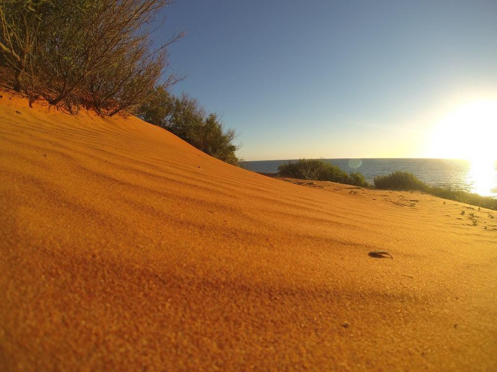 Watching the Sun go Down at Shark Bay
