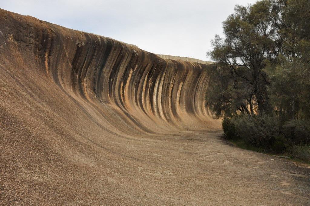Wave Rock in Hyden
