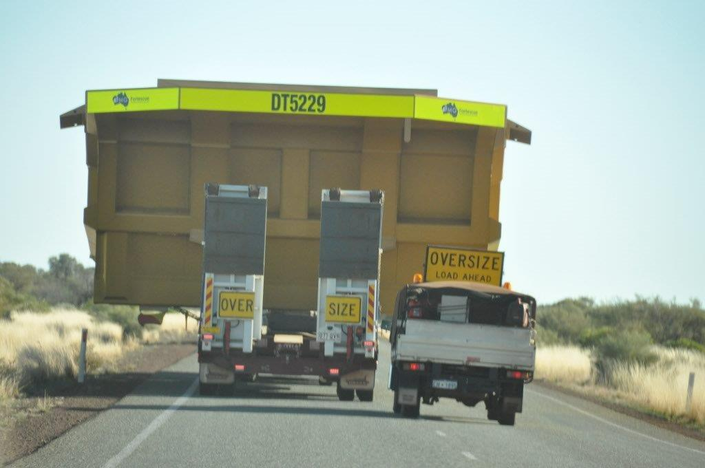 Wide Loads Near Newman