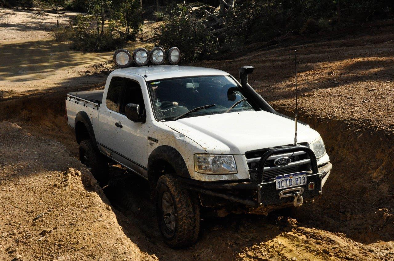 A Ford at Mundaring