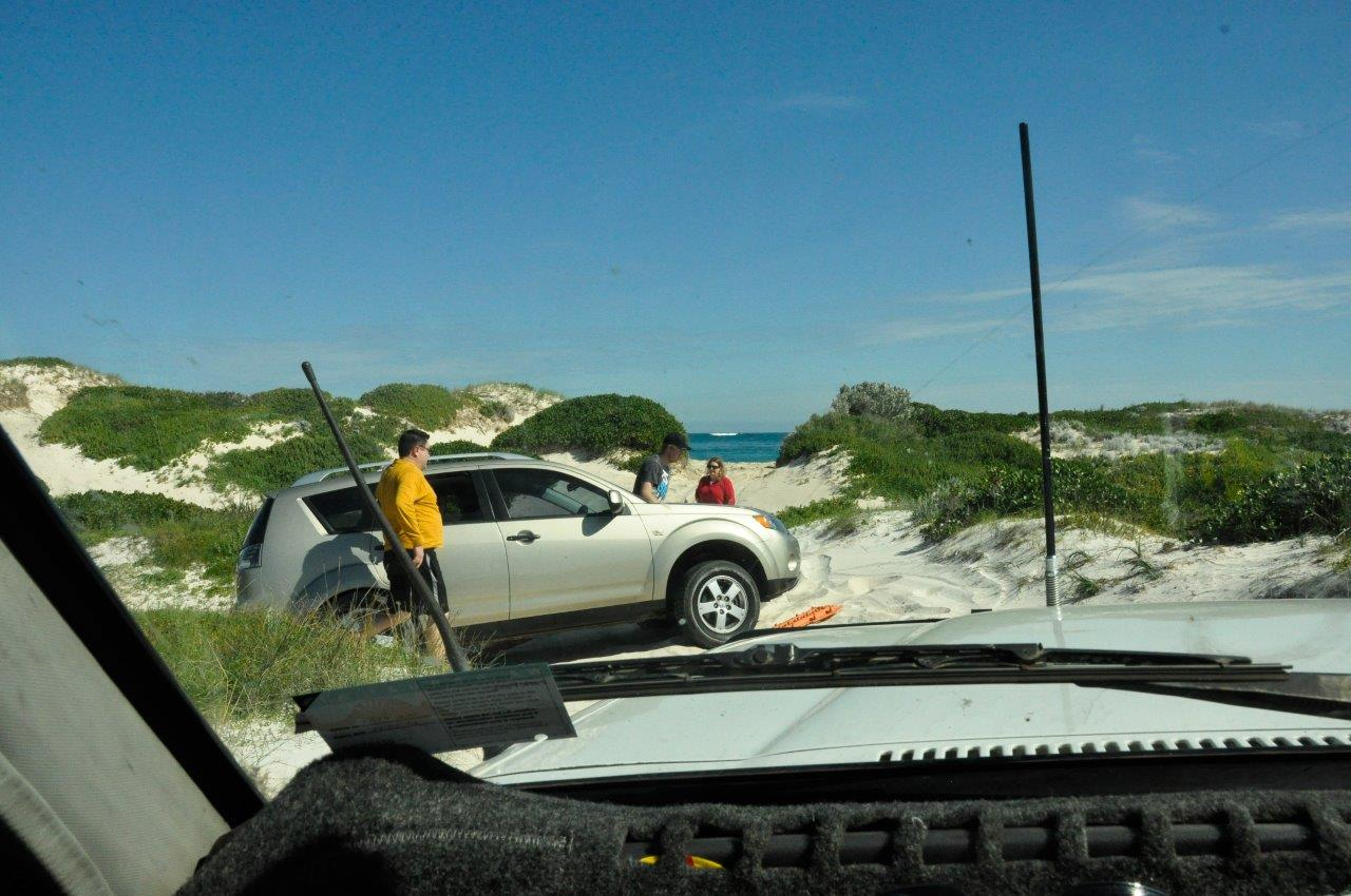 Bogged at Lancelin