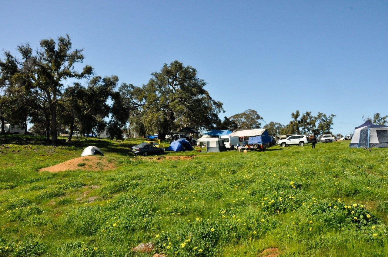 Camping at Mogumber