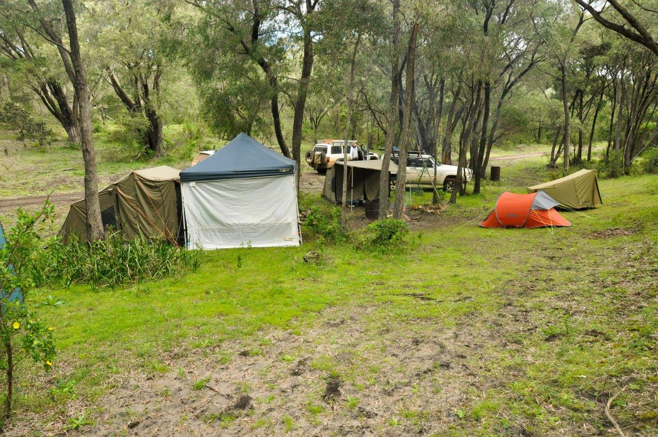 Camping on Private Property