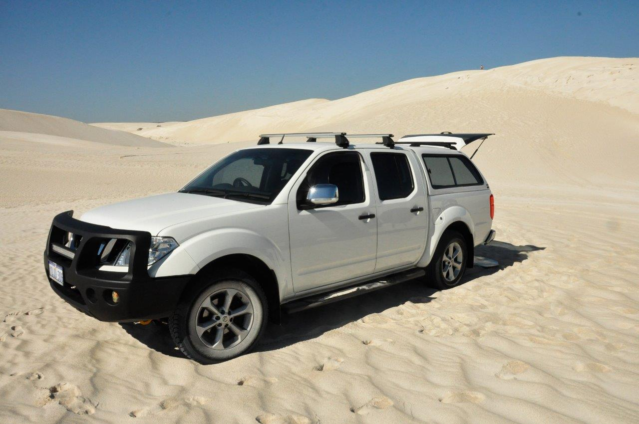 D40 Navara in the Dunes