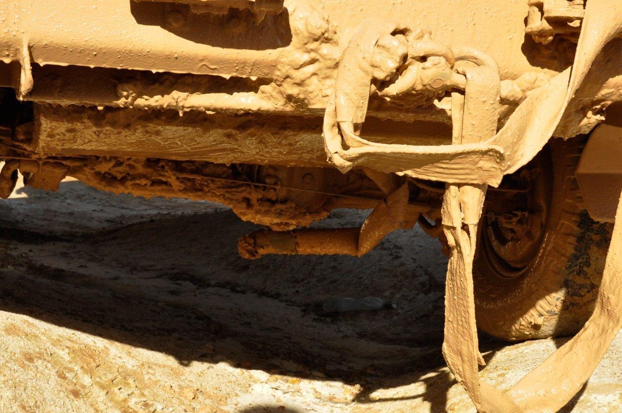 Damaged Exhaust