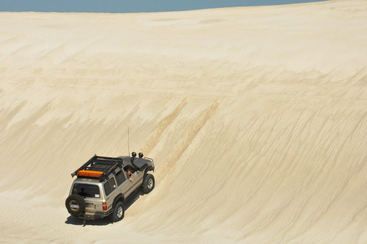 Dune Climbing in the 80