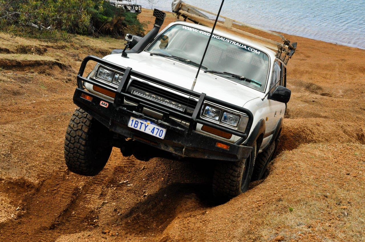 Flexing the 80 at Waroona