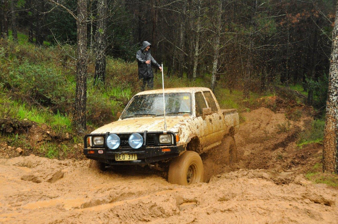 Flicking Mud