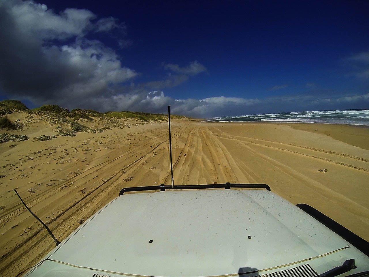 Jasper Beach 4wding