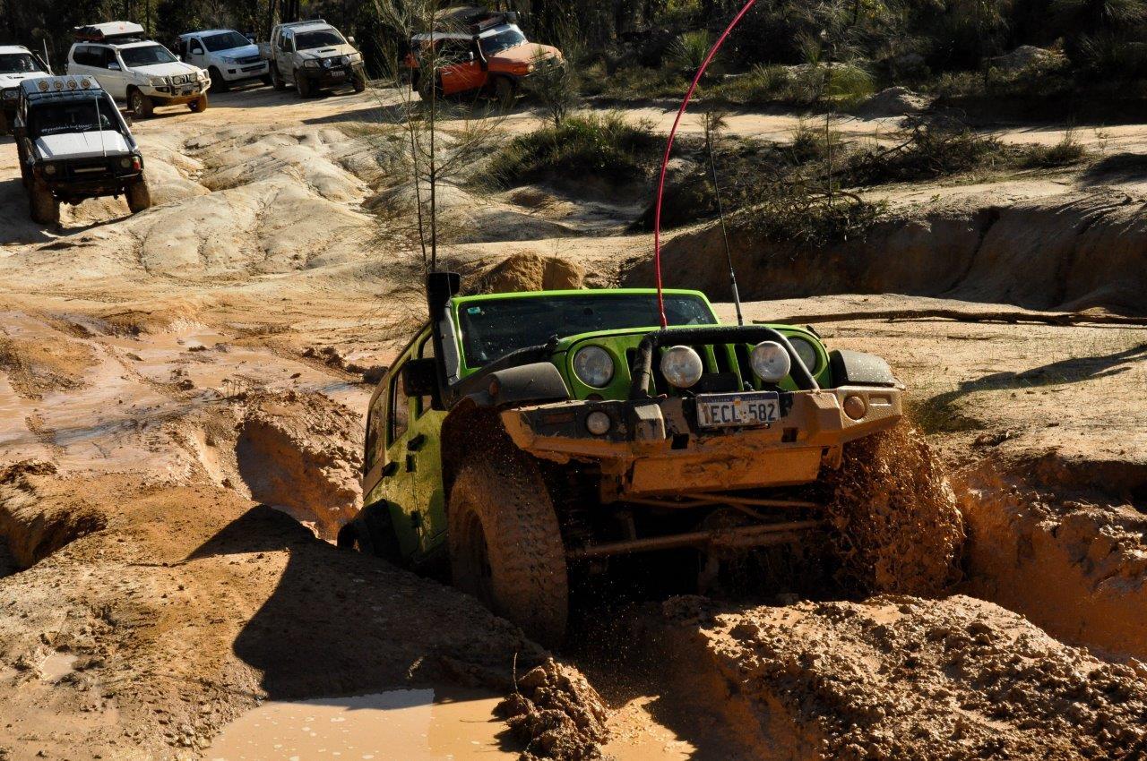 Jeep at Mundaring