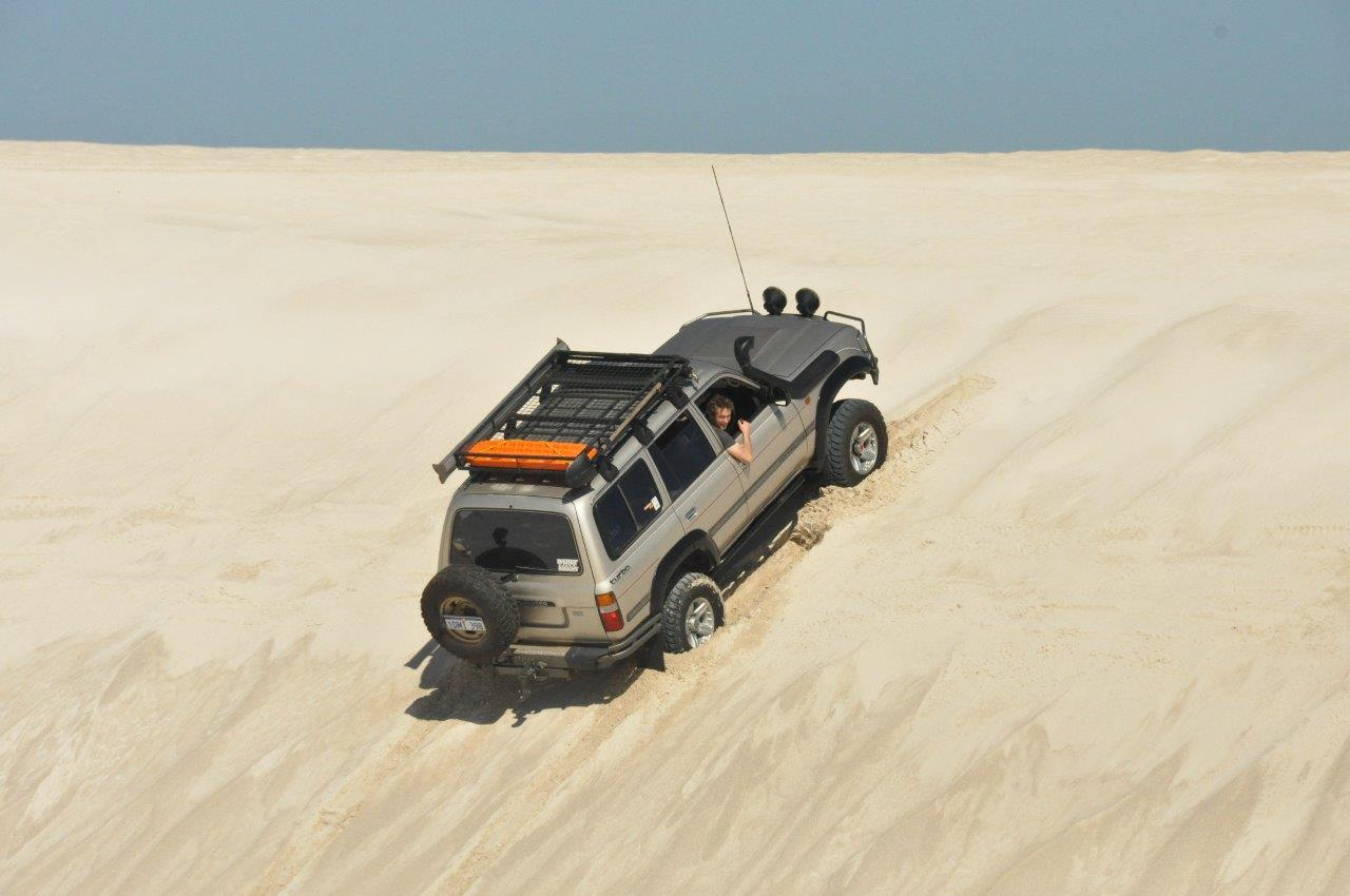 Lancelin Dunes in the 80