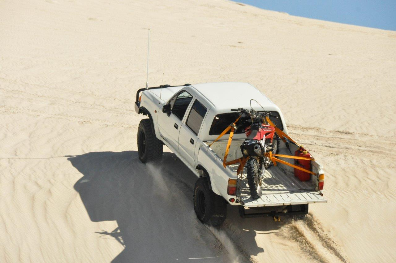 Lancelin Sand Dunes in the Lux