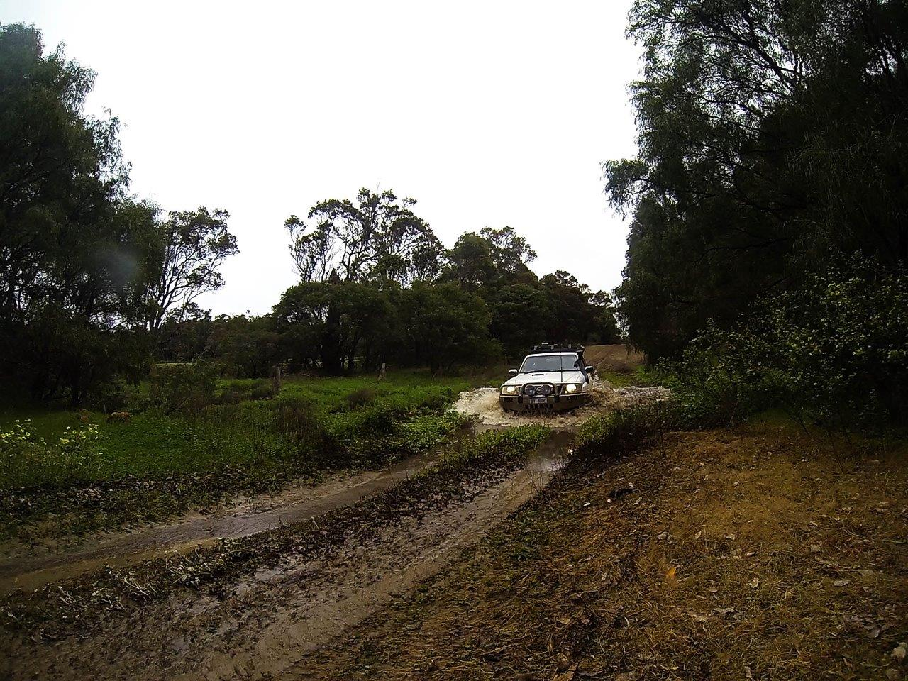 Little Water Crossing at Milyeannup
