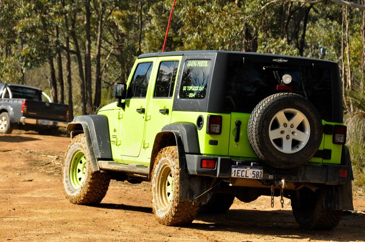 Mundaring in the Jeep