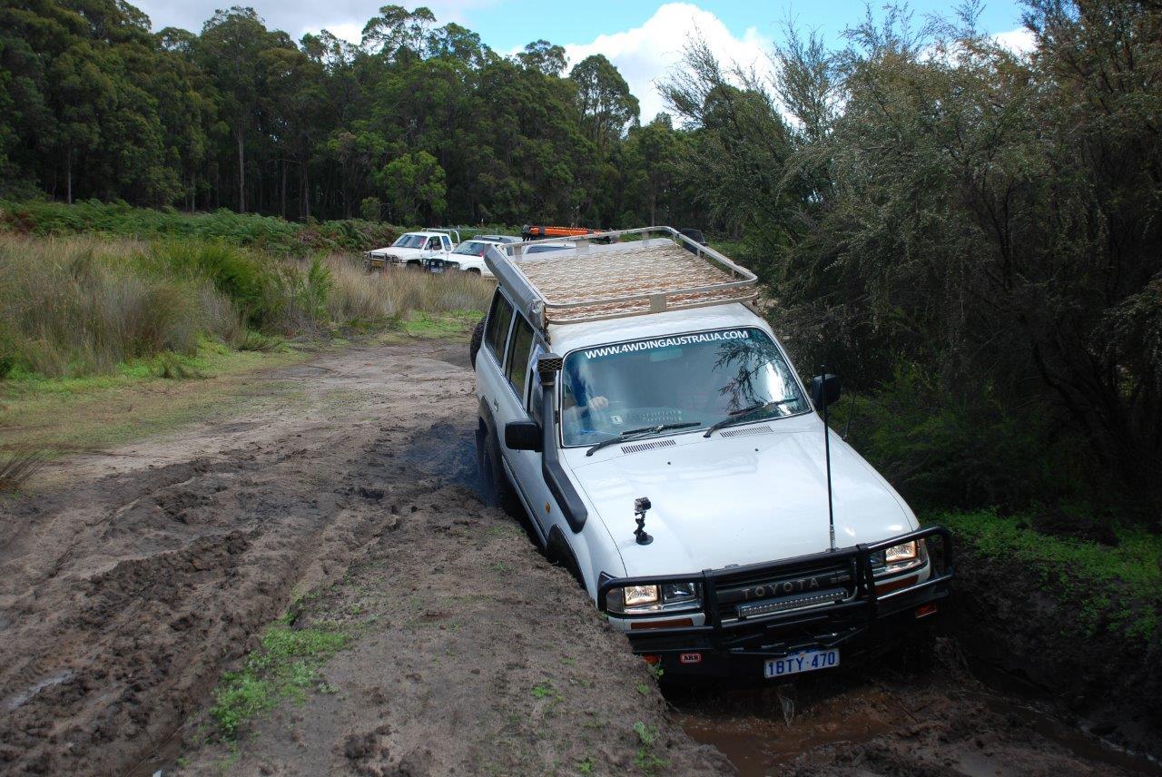 Plenty of Mud to Get Stuck In