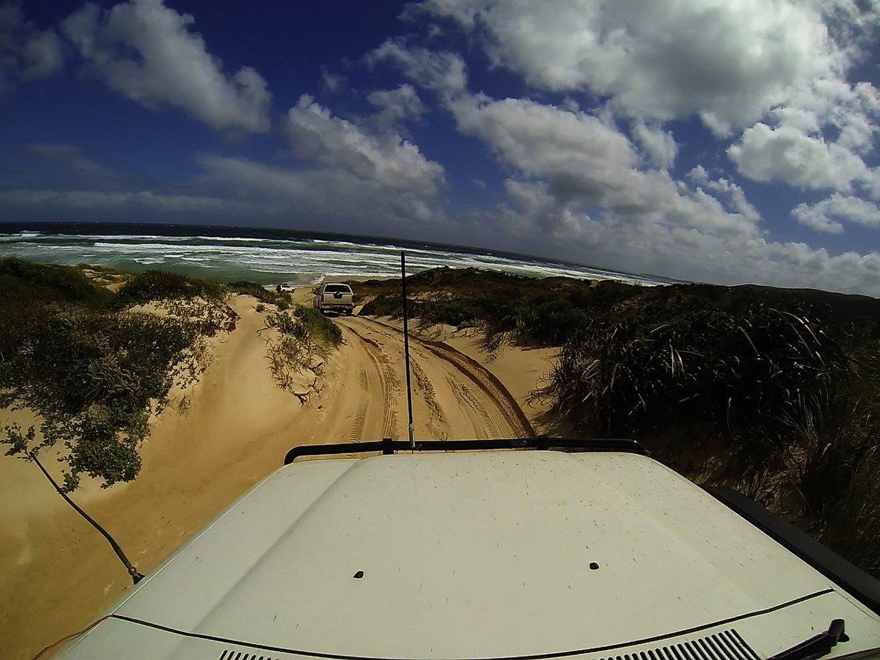 Pulling Onto Jasper Beach