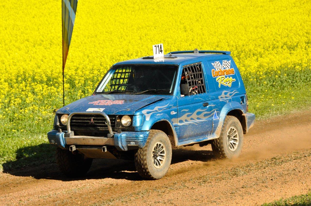 SWB Pajero Racing