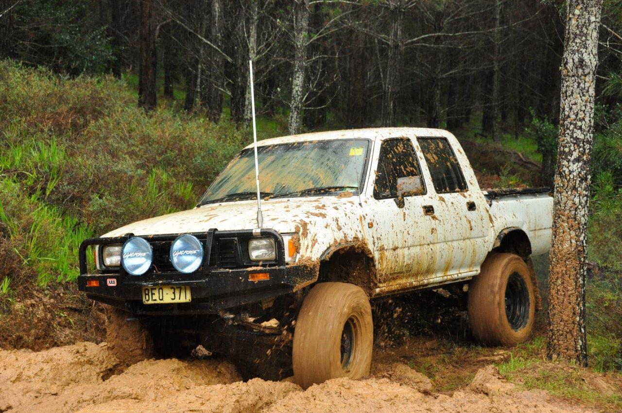 Sticky Sloppy Mud