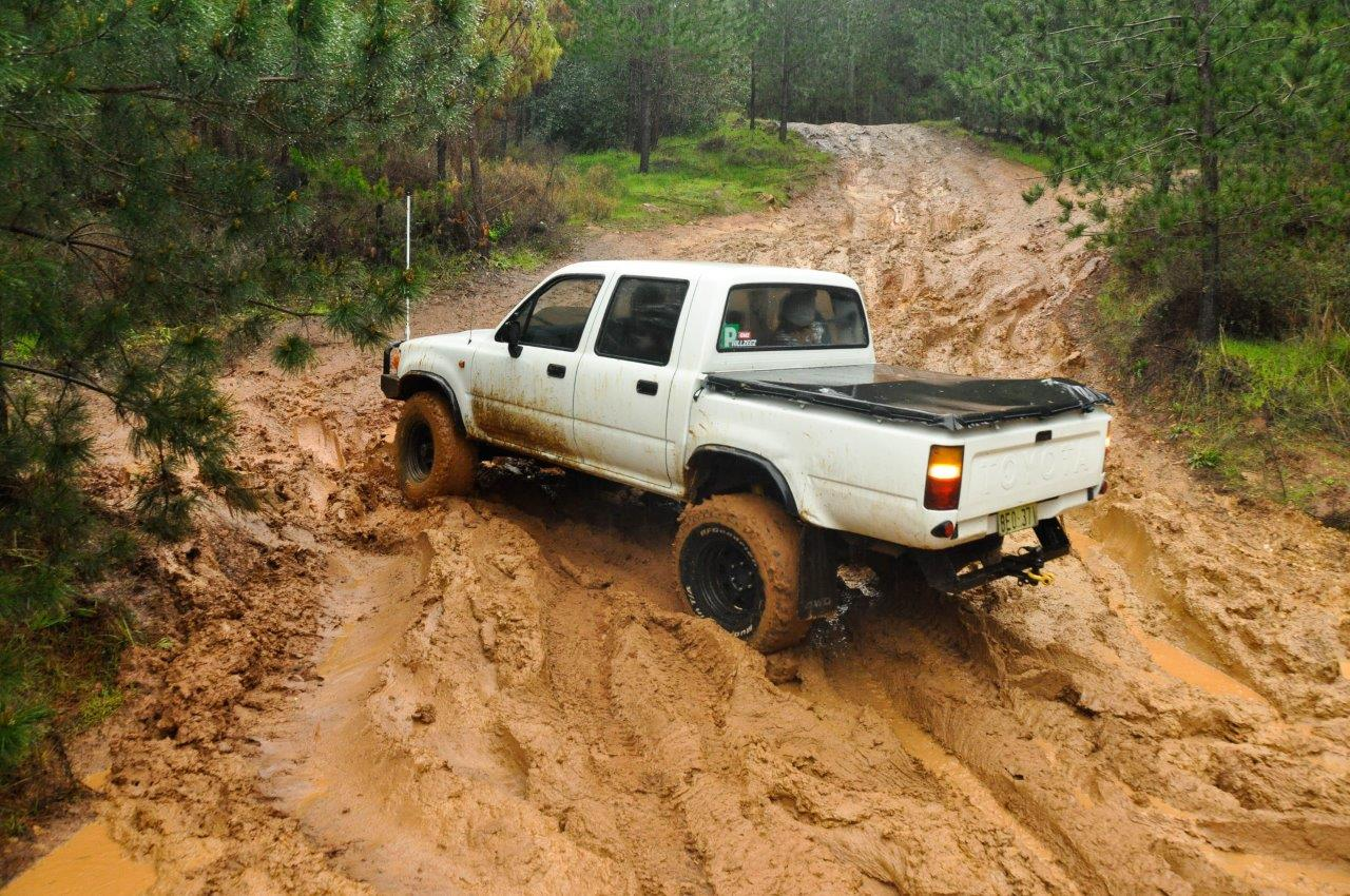 Thick Mud Climbs