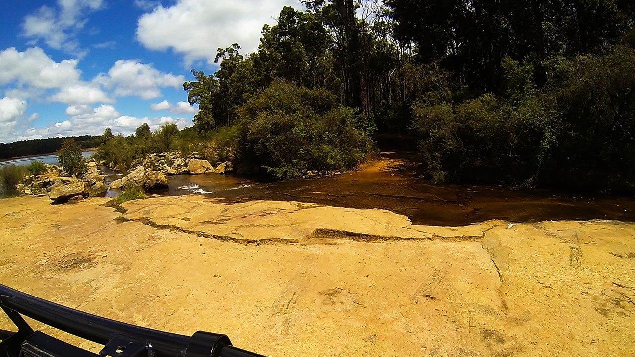 Waroona Dam Creek crossing