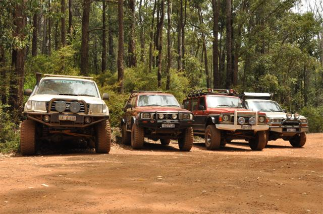 Dwellingup 4WD track options