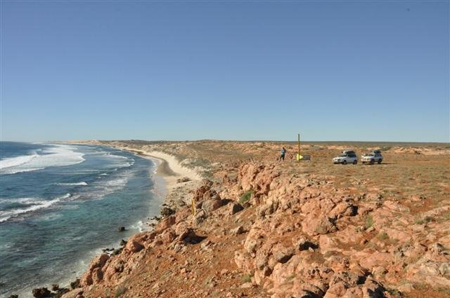 Checking out the view at Gnaraloo