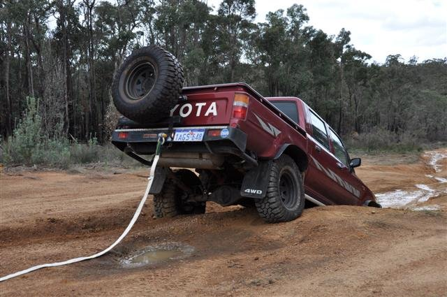 Bogged at Mundaring