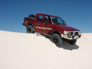 Fun at Lancelin Dunes