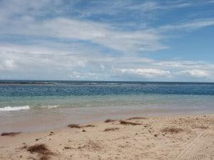 Lucky Bay, south of Kalbarri
