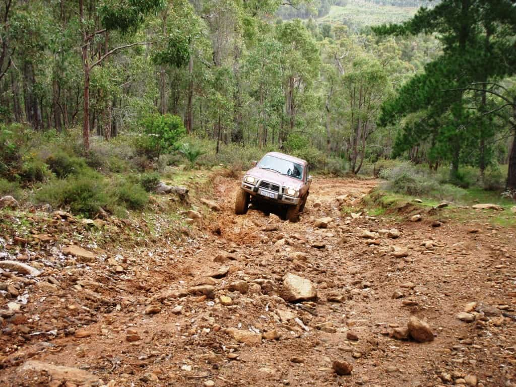 More Four Wheel Driving