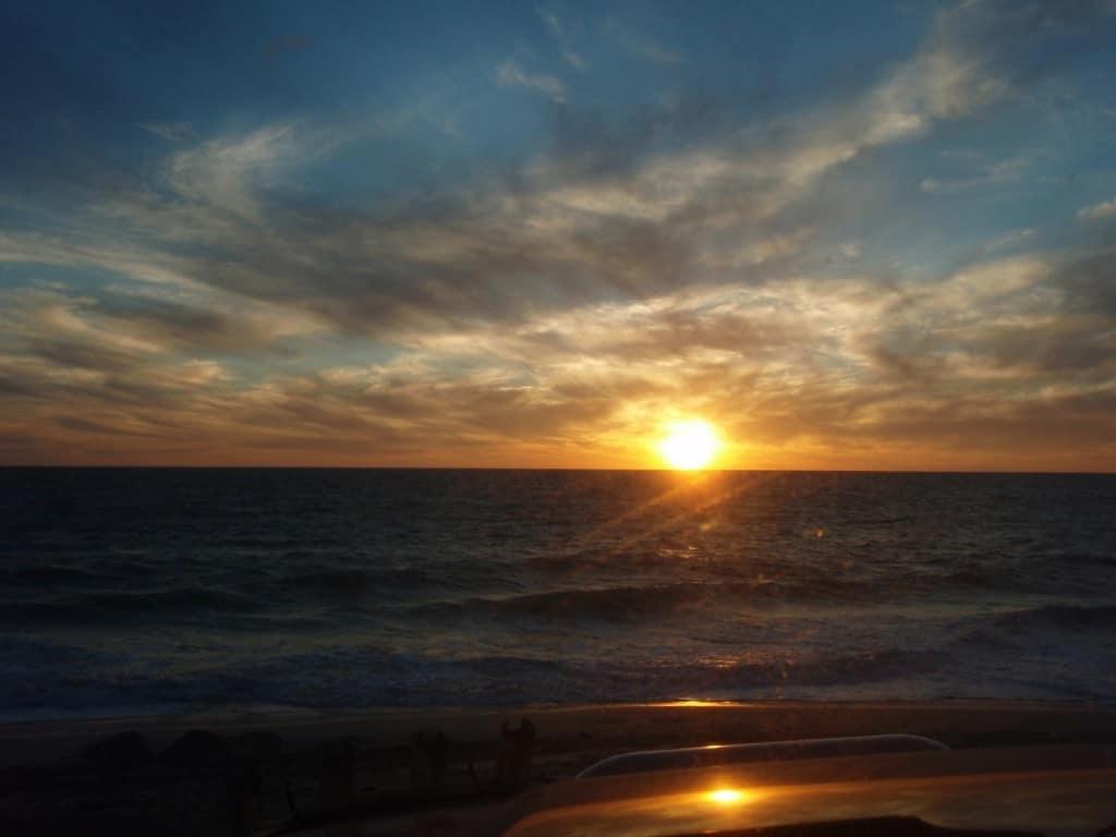 Wilbinga Beach at Sunset