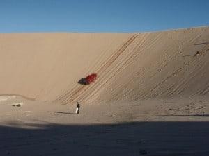 Lucky Bay Sand dune