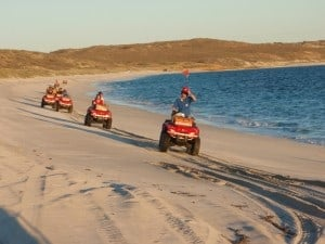Quad tours at Coral Bay