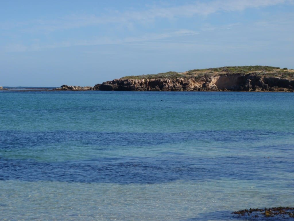 Point Peron's great coloured water.