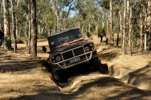 Mud runs at Julimar