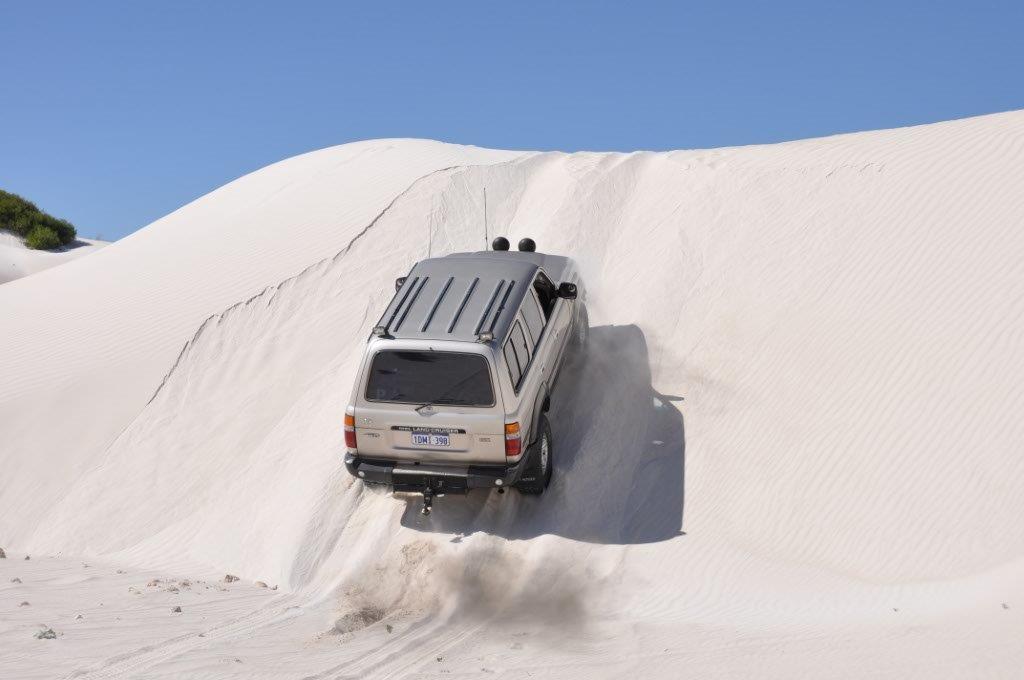 Lancelin Sand Dunes 4wding