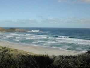 A stunning beach