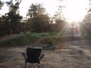 Camping at Broome Hill